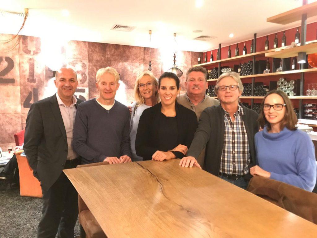 Gruppenfoto des Tierschutzhaus Wolfsberg Vorstandes